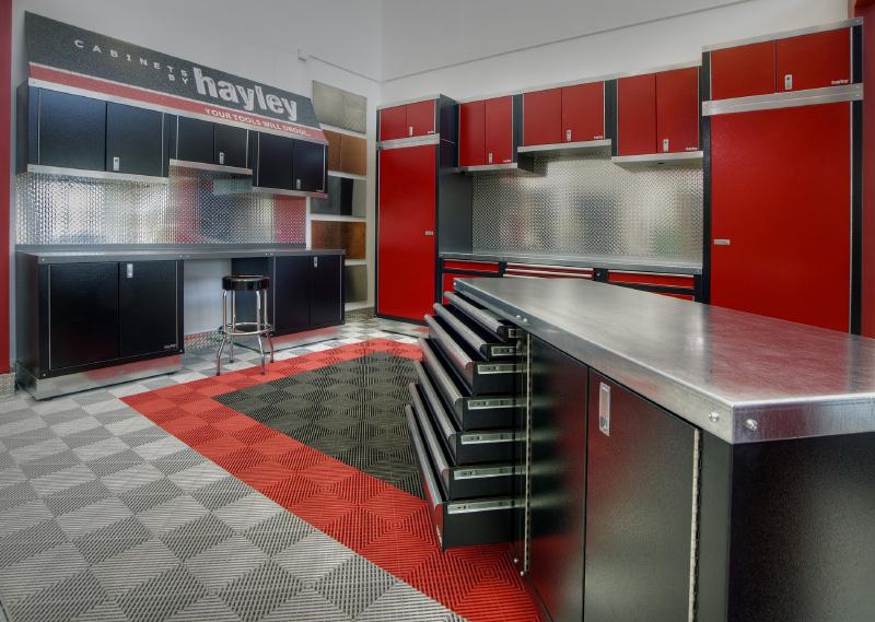 Hayley HC garage cabinets