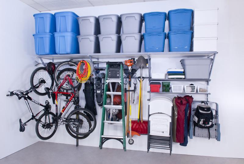 Monkey Bar garage wall storage units